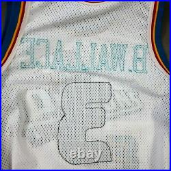 100% Authentic Ben Wallace Nike 2000 01 Pistons Game Issued Jersey 54+6 Mens
