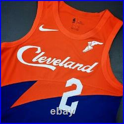 100% Authentic Collin Sexton Nike Cavaliers City Game Issued Jersey 44+4 L used
