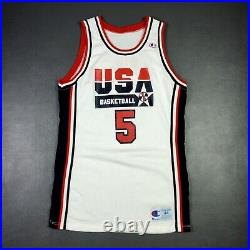 100% Authentic David Robinson 1992 USA Olympics Game Jersey 44 issued pro cut