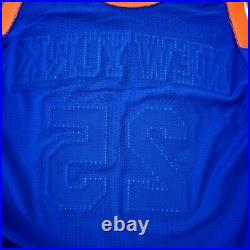 100% Authentic Derrick Rose 2015 Knicks Game Issued Jersey Size XL+2