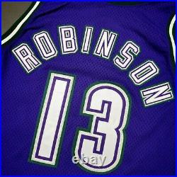 100% Authentic Glenn Robinson Champion 94 95 Bucks Game Issued Worn Jersey
