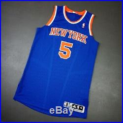 100% Authentic Jason Kidd 2012 NY Knicks Game Issued Jersey Size XL+2