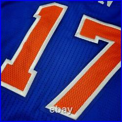 100% Authentic Jeremy Lin 2011 NY Knicks Game Issued Jersey Size L+2 Mens
