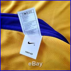 100% Authentic Kobe Bryant Nike 99 00 Lakers Game Issued Pro Cut Jersey Mens