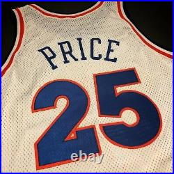 100% Authentic Mark Price Champion 92 93 Cavaliers Game Issued Jersey 42+2 M L