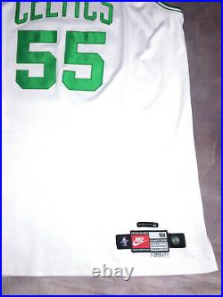 100% Authentic Nike Boston Celtics Eric Williams Game Issued Jersey Pro Cut 52+3