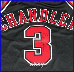 100% Authentic Nike Bulls Tyson Chandler Alternate Jersey Game Issued Pro Cut