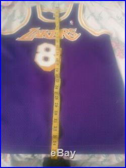 100% Authentic Nike Kobe Bryant Lakers rookie Team Issued Game Jersey size 44