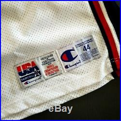 100% Authentic Steve Smith Champion 1994 USA Olympic Game Issued Worn Jersey