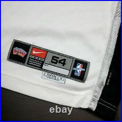 100% Authentic Tim Duncan Nike 2001 2002 Spurs Game Issued Jersey Mens 911
