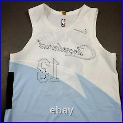 100% Authentic Tristan Thompson Nike Cavaliers Earned City Game Issued Jersey