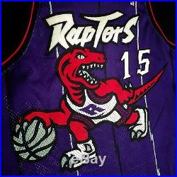 huge discount 029a4 f0342 100% Authentic Vince Carter Nike 98 99 Game Issued Raptors ...