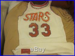 1975/1976 ABA Basketball Utah Star Game Issued Jersey #33 Dwaine Dillard