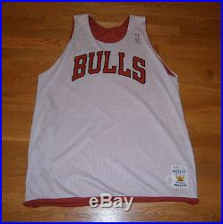1980's Chicago Bulls Practice jersey game used worn Official issue Sandknit