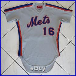 size 40 a3549 f167f 1982 Lee Mazzilli New York Mets Team / Game Issued Unused ...