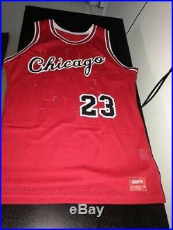 1984-85 Rawlings Chicago Bulls Game Issue Michael Jordan Rookie Jersey Sz 44