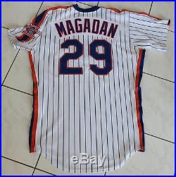 1986 Dave Magadan New York Mets Game Issued Possibly Game Used Home Jersey