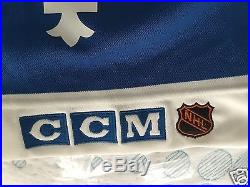 1990-1991 Joe Sakic Game Issued QUEBEC NORDIQUES ROAD JERSEY