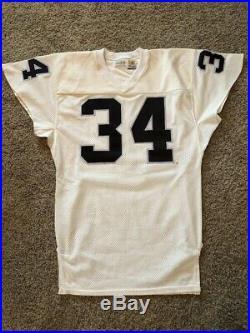 1990 LA Raiders Bo Jackson Game Worn/Used/Issued Road Jersey RARE! LOA