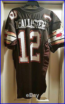 1992 Bobby McAllister #12 San Antonio Riders WLAF Game Issued Jersey VERY RARE