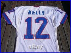 1994 Jim Kelly Buffalo Bills Pro Cut Game Issued Football Jersey sz. 44 vtg