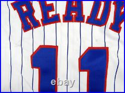 1994 Montreal Expos Randy Ready #11 Game Issued White Jersey 125th Annv Patch