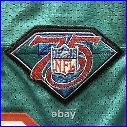 1994 Wilson NFL 75th Anniversary Game Issued Jersey Miami Dolphins Bernie Kosar
