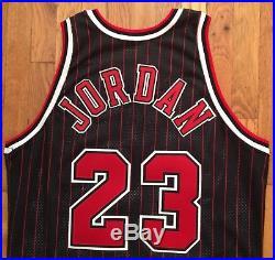 1995-96 Chicago Bulls Michael Jordan Pro Cut Jersey 46 + 3 game issued used worn