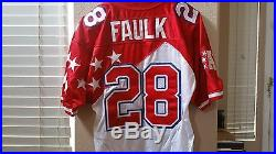 1995 Marshall Faulk GAME ISSUED Pro Bowl Jersey MVP NFL Hall of Fame