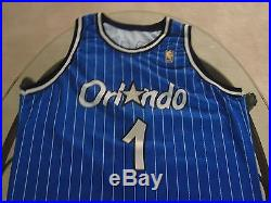 1996-97 Champion Penny Hardaway NBA @ 50 Game Issued Pro Cut Authentic Jersey