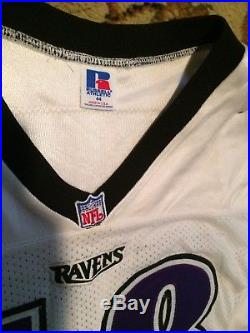 1996 Baltimore Ravens Game Issued Jersey Charles Brown Franchise