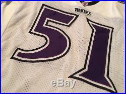 1996 Baltimore Ravens Game / Issued Jersey Mike Croel Franchise Inaugural Year
