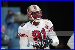 1996 Terrell Owens San Francisco 49ers Game / Team Issued Jersey Never Used HOF