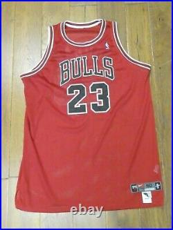 1997-1998 Michael Jordan Game Issued Chicago Bulls NBA Basketball Jersey