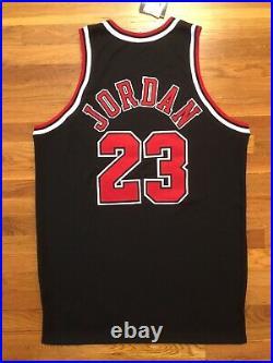 1997-98 Chicago Bulls Michael Jordan Pro Cut Jersey 50 + 4 game issued used worn