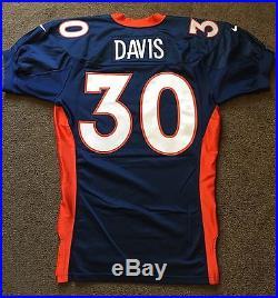 hot sale online 73fd4 8c17d 1997 Denver Broncos Terrell Davis Game Issued Super Bowl ...