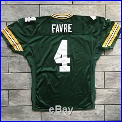 1997 Nike Green Bay Packers Brett Favre Team Game Issued Jersey Sz. 52 Used