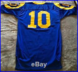 1997 Rams Game Used/Issued Wilson Jersey Size 48