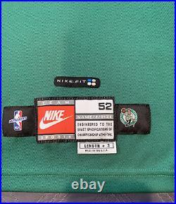 1998-1999 Paul Pierce Game Used Issued Boston Celtics Home Rookie Jersey NBA