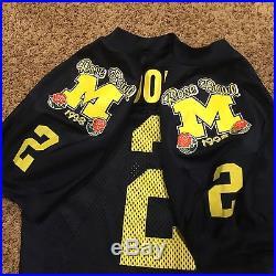 best sneakers 418fc af7f7 1998 Charles Woodson Michigan Rose Bowl Nike Game Used/worn ...