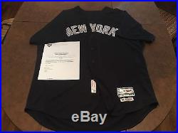 2 Aaron Judge NY Yankees Game Used Issued Home Road Jerseys Rookie Year Steiner