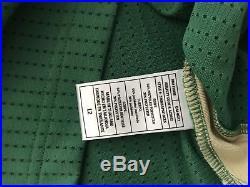2 Boston Celtics St Patricks Day Pro Cut Issued Authentic Blank Game Jerseys HWC