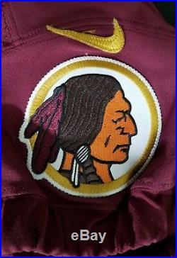 #2 No Name of Washington Redskins NFL Locker Room Game Issued Alternate Jersey