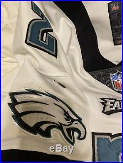 #2 of Philadelphia Eagles NFL Locker Room Game Issued Jersey NOBR