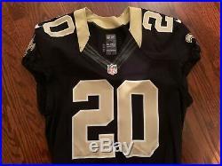 #20 New Orleans Saints Game Worn Issue Jersey SZ42 2012