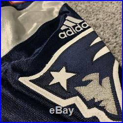 2000 Chad Holleman Adidas Game Issued Patriots Jersey