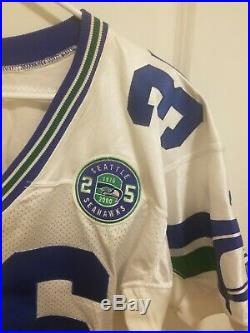 2000 Game Issued Puma Seattle Seahawks Jersey Size 42 Patch