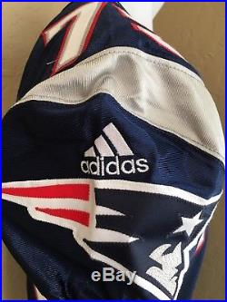 2000 New England Patriots Team Issued Adidas Game Jersey Size 50
