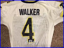 2000 Orange Bowl Marquise Walker Michigan Nike Used/worn/game Issued Jersey