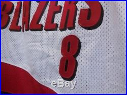 2000 STEVE SMITH Portland Trail Blazers Nike game issued jersey 48+2 authentic